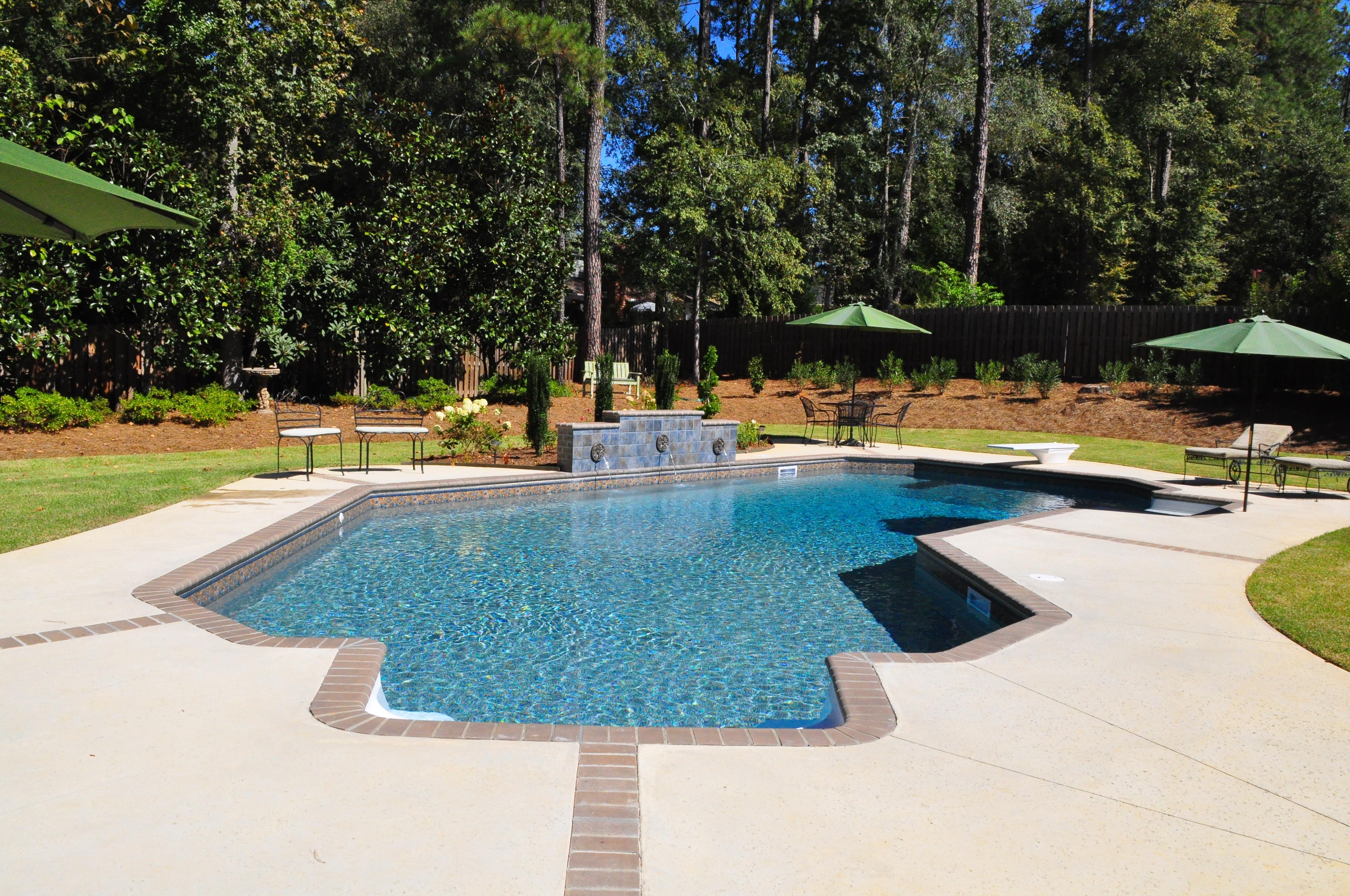 Swimming Pool Expansion : Inground pools photos evans aiken pool design