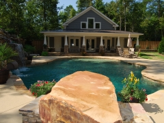 Gunite pool 16