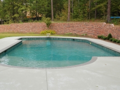 Gunite pool 11
