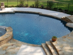 Gunite pool 12