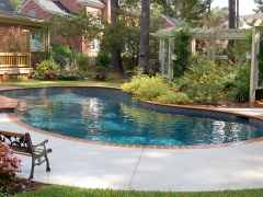 Gunite pool 13