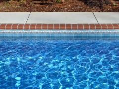 Vinyl Swimming Pool_ Brick Coping
