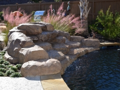 Faux Rock Waterfall_ Pete Alewine Outdoor Showroom (1)