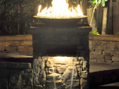 Fire Bowl_ Lighted Water Scupper
