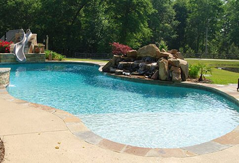 Best swimming pool builder evans aiken inground pools for Best type of inground pool