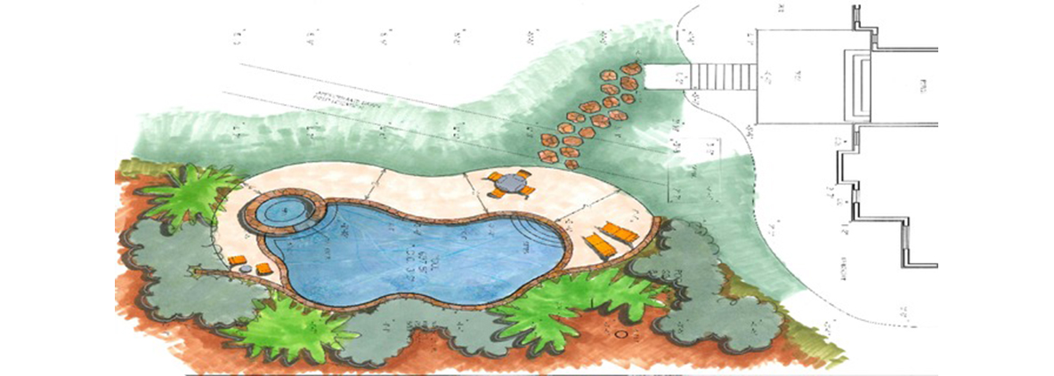 Pool Design Evans Custom Pools Amp Hot Tubs Augusta